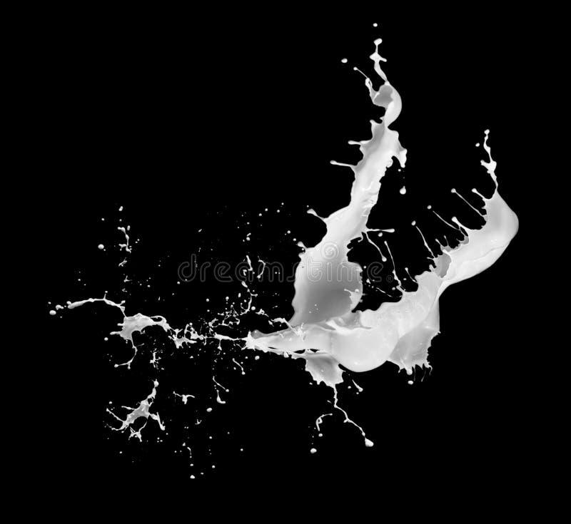 Éclaboussure de lait illustration libre de droits