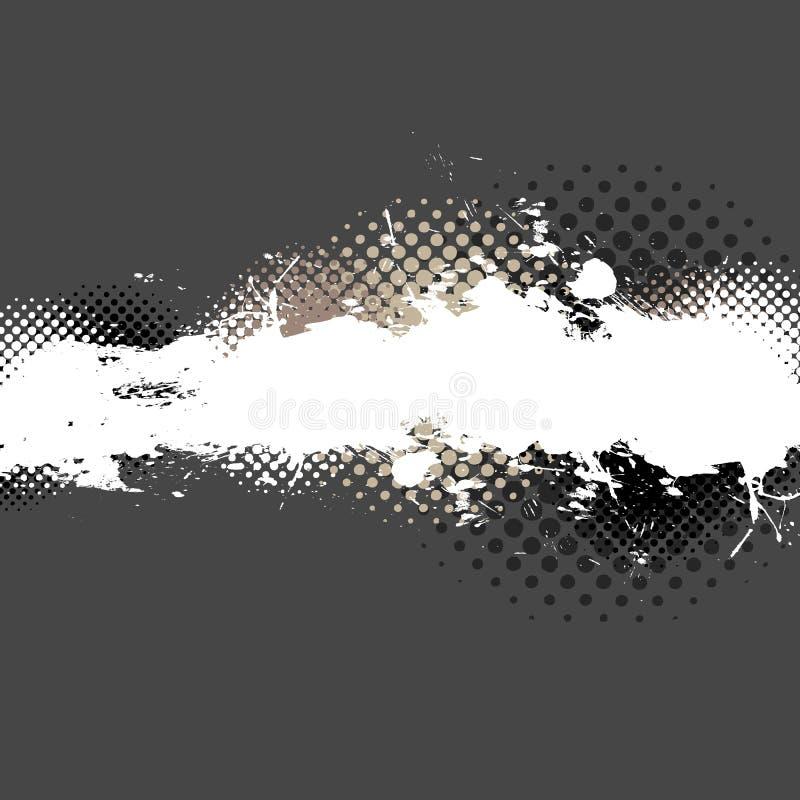 éclaboussure de peinture de disposition illustration stock