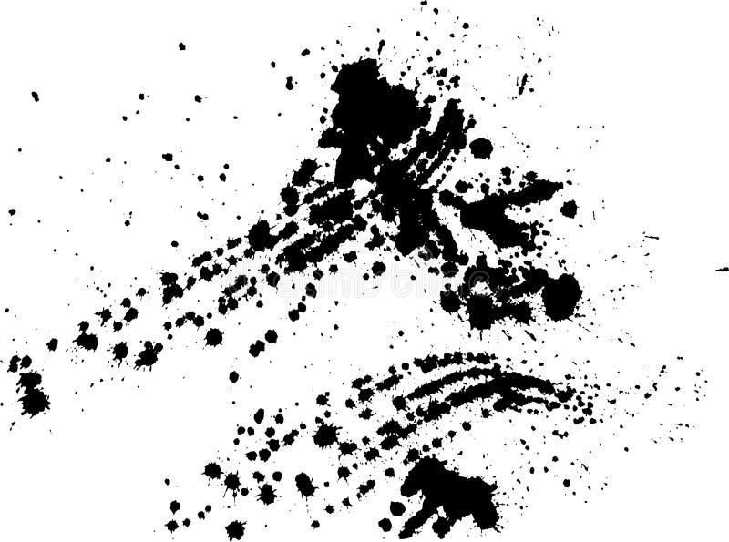 Éclaboussure de vecteur illustration stock