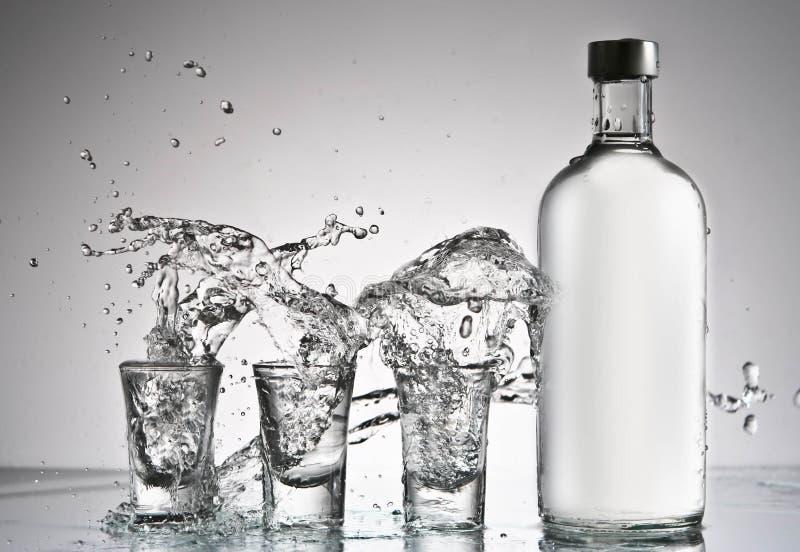 Éclaboussure de vodka photo libre de droits