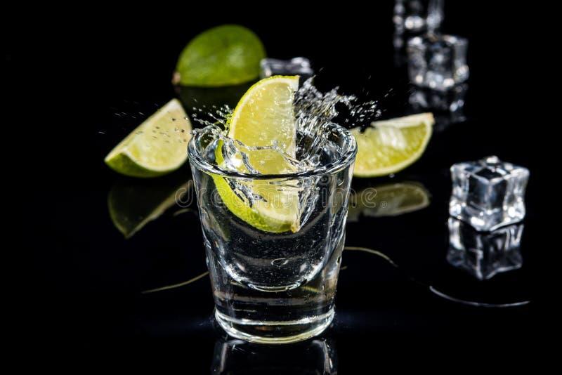 Éclaboussure mexicaine de tequila photo libre de droits