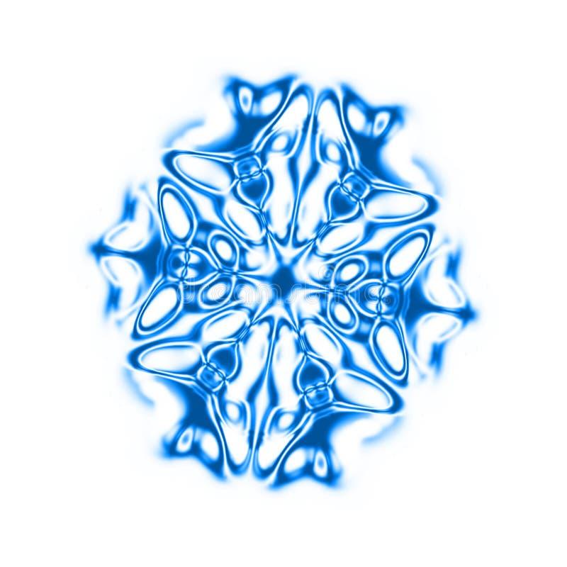 Éclaille de neige illustration de vecteur