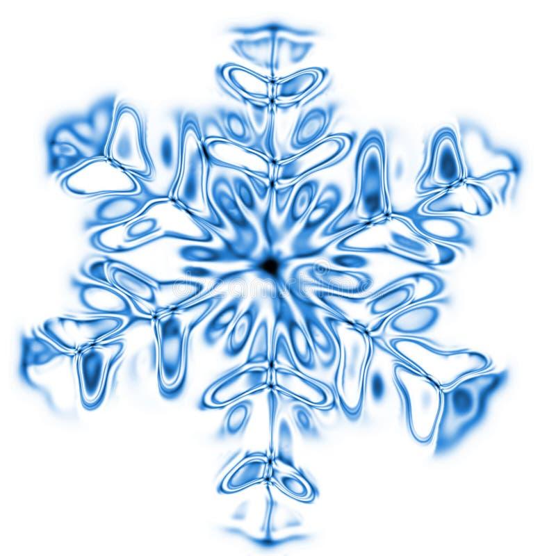 Éclaille de neige illustration stock