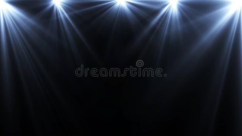 éclairage photographie stock