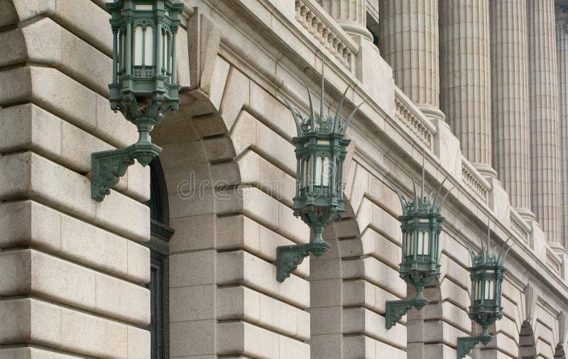 Éclairage architectural images stock
