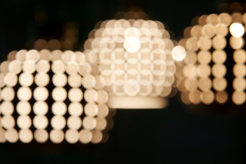 Éclairage de Blured photos libres de droits