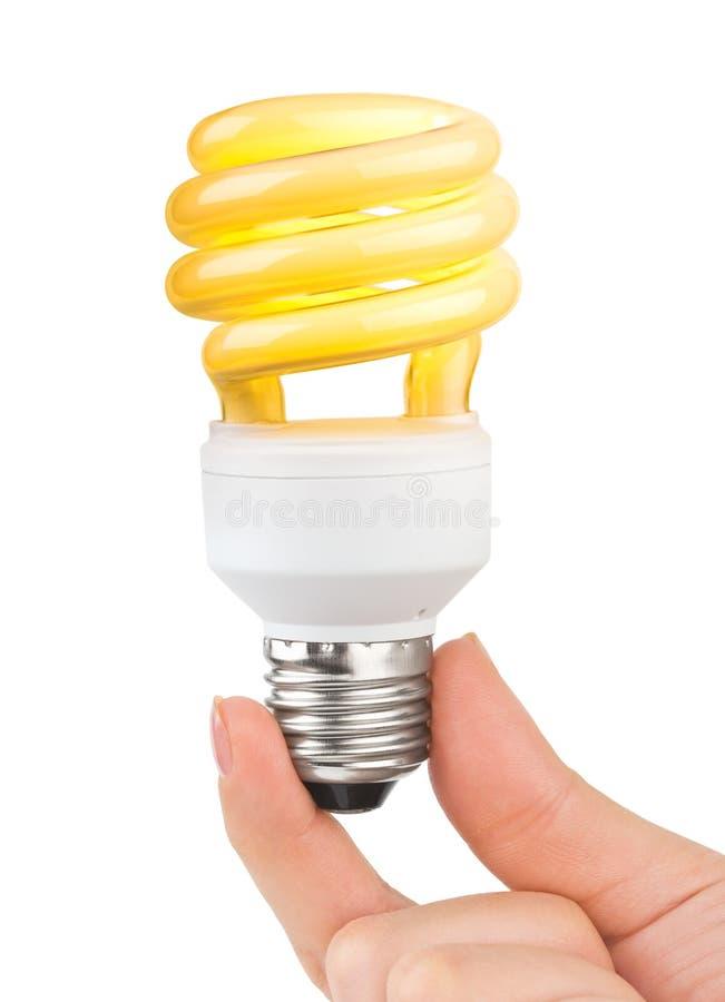éclairage de lampe de main photographie stock