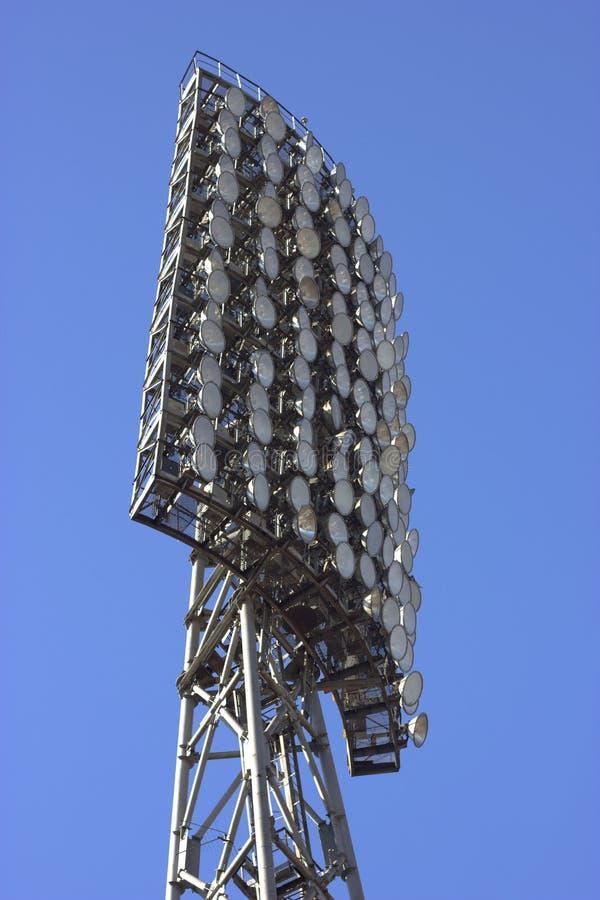 Éclairage de stade photos stock