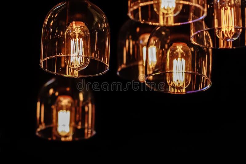 Éclairage intérieur de décor photo libre de droits