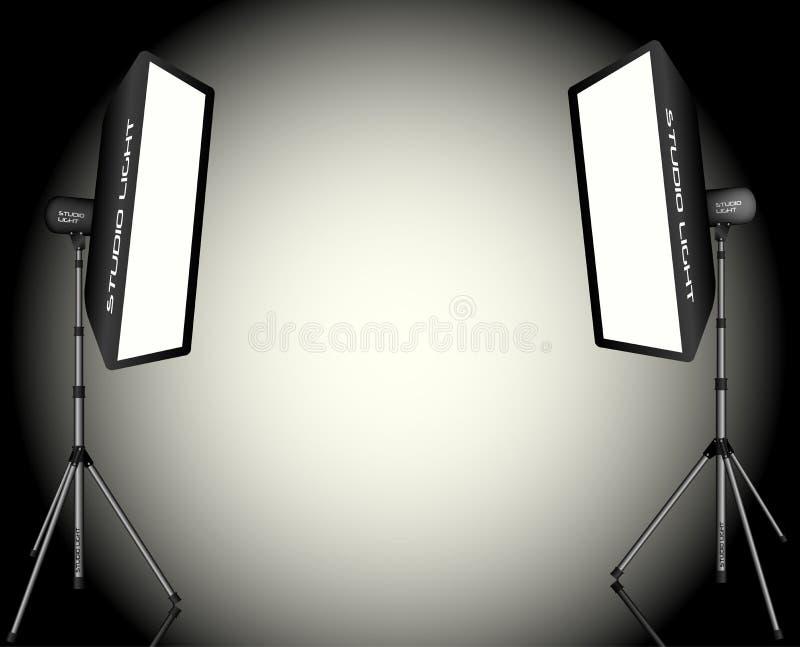 Éclairage photographique illustration stock