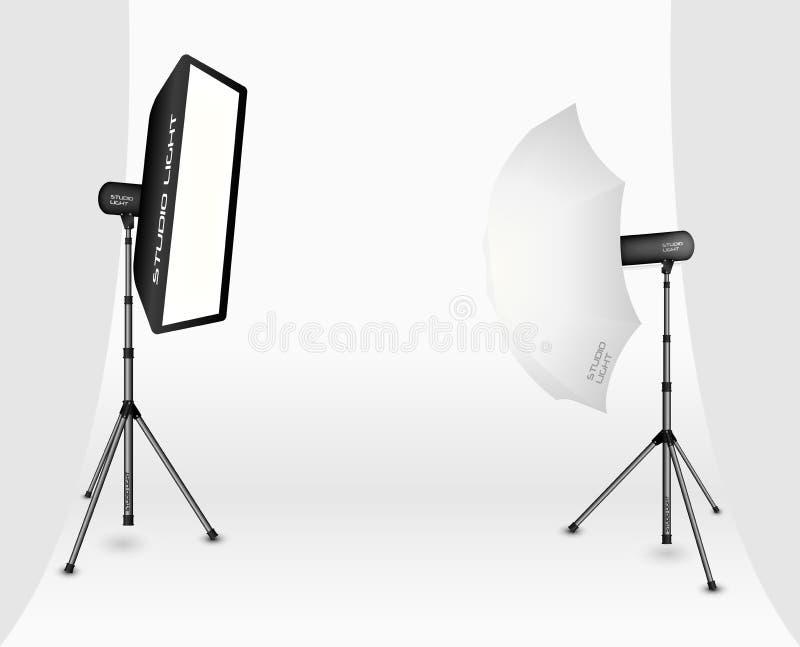 Éclairage photographique illustration libre de droits