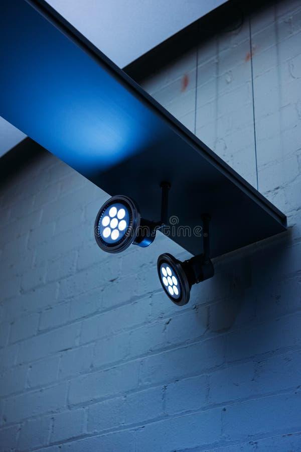 Éclairage professionnel de LED images stock