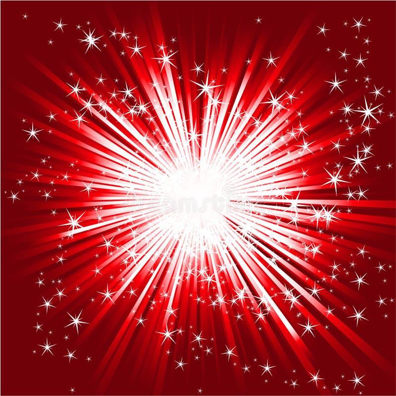 Éclat abstrait d'étoile image libre de droits