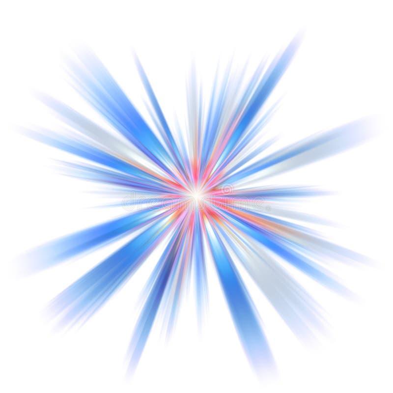 Éclat d'abstrait illustration de vecteur