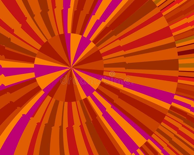 Éclat D Orange Photo libre de droits