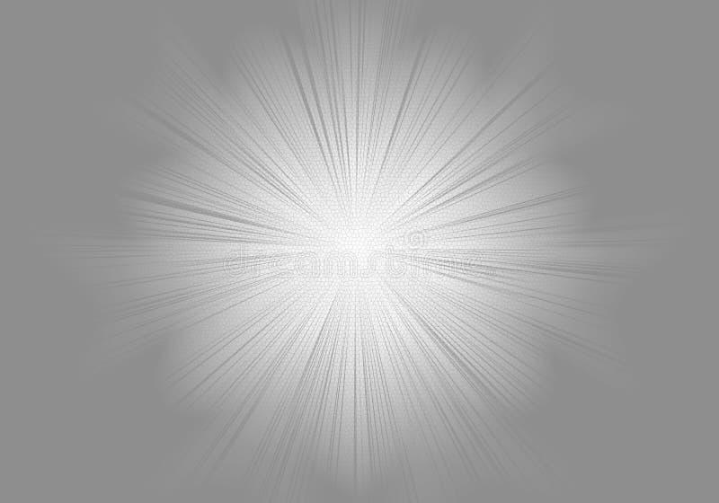 Éclat de gris et de blanc illustration libre de droits