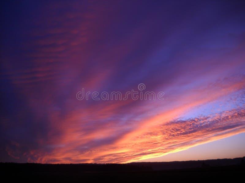 Éclat de lever de soleil image libre de droits
