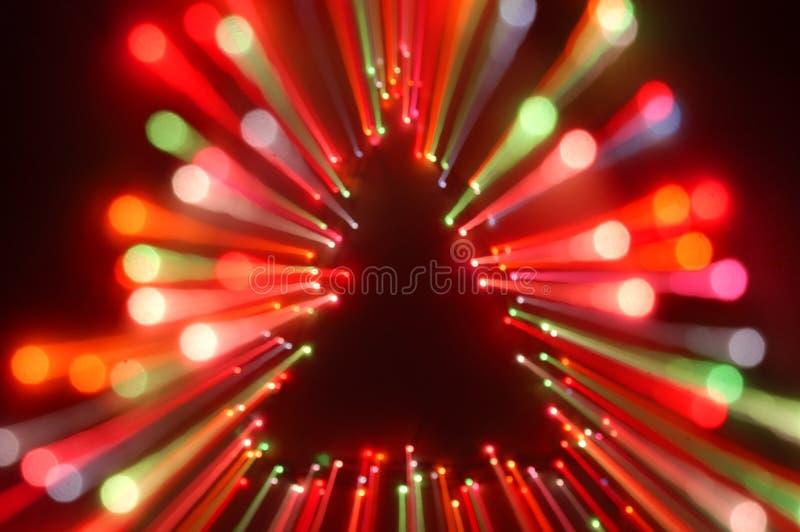 Éclat de lumière de Noël photo stock