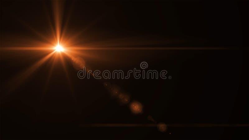 Éclat de Sun photo stock