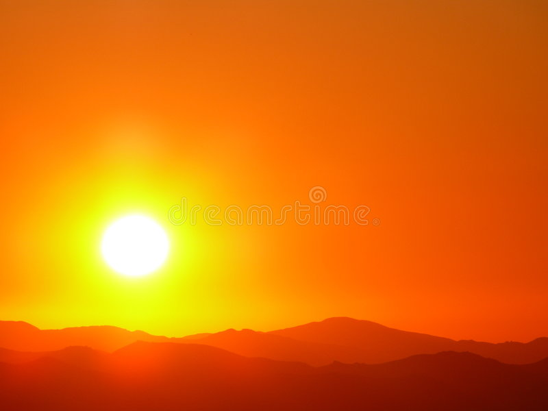 Éclat de Sun photo libre de droits