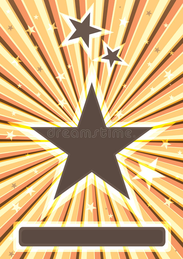 Éclat Stars_eps illustration de vecteur