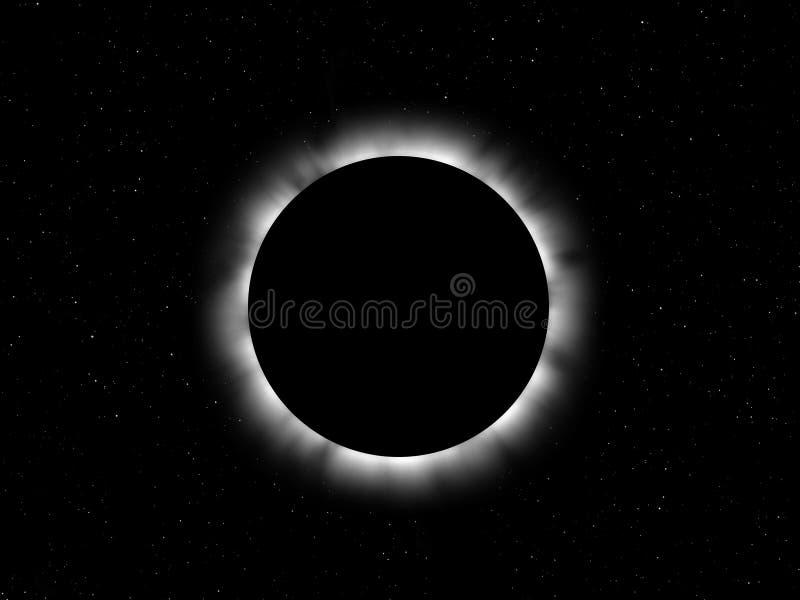 Éclipse illustration libre de droits