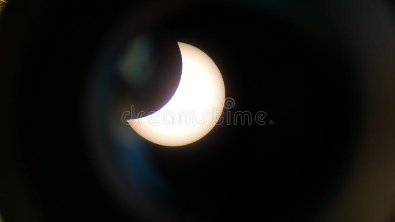 Éclipse de Sun images libres de droits