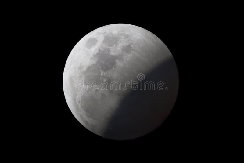 Éclipse lunaire photo libre de droits