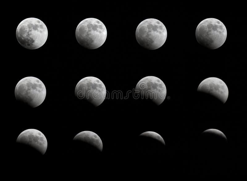 Éclipse lunaire photographie stock libre de droits