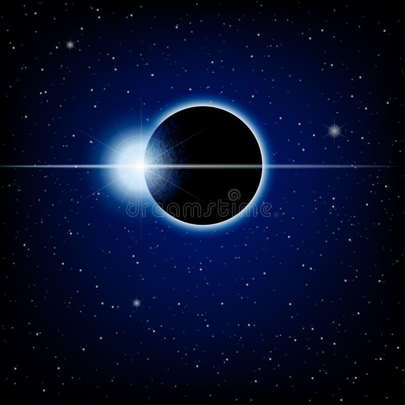 Éclipse lunaire images stock