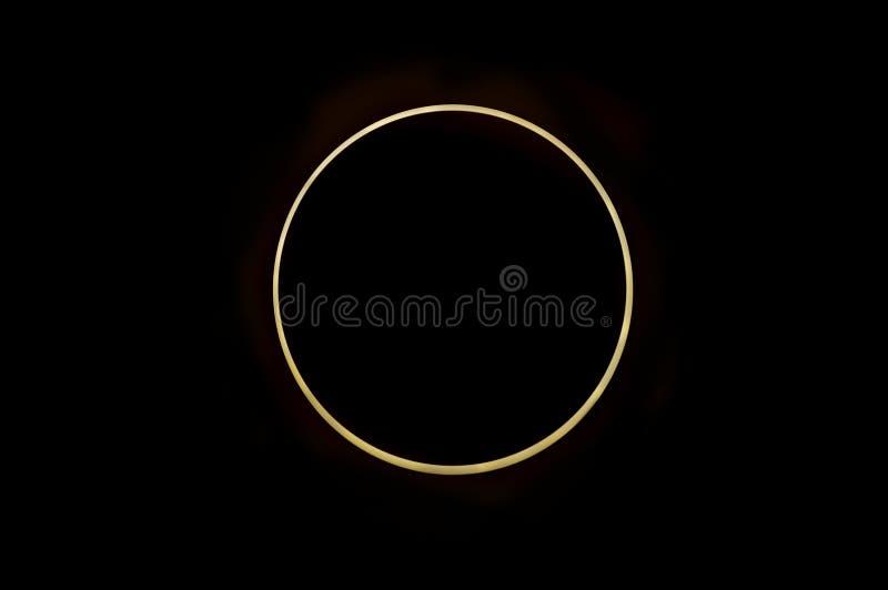 Éclipse solaire photo stock