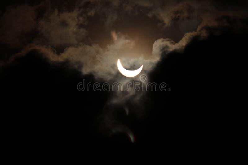 Éclipse solaire images libres de droits