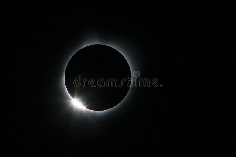 Éclipse solaire du 21 août 2017 photo libre de droits
