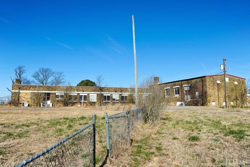 École abandonnée photo libre de droits