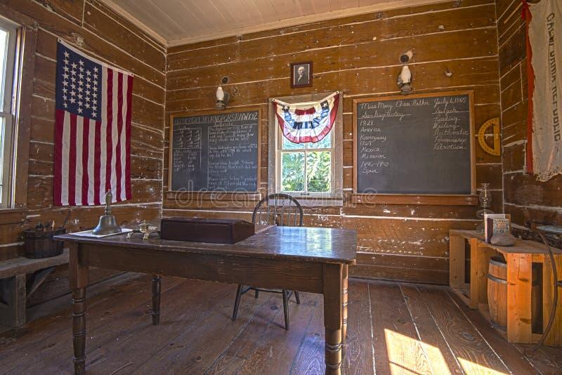 École américaine tôt photo stock