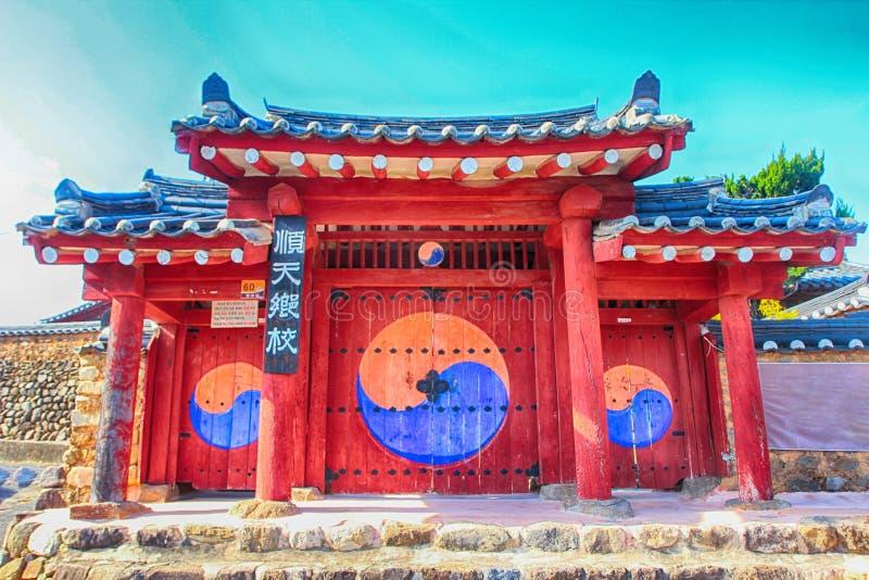 École confucéenne de Hyanggyo dans Suncheon, Corée du Sud 9 photo libre de droits