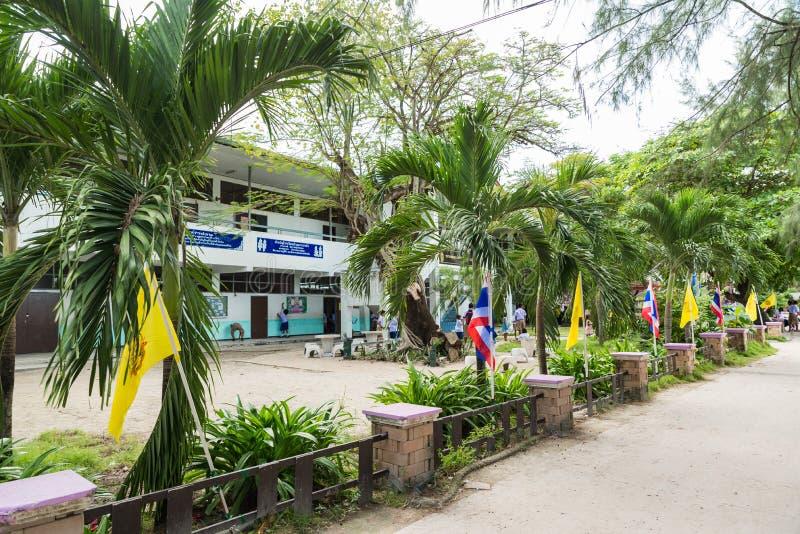 École d'adang de Bann sur Koh Lipe dans Satun, Thaïlande image stock