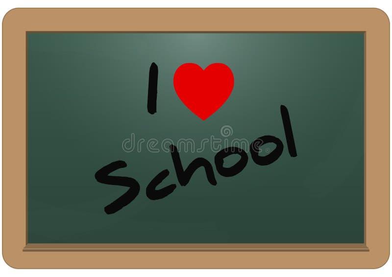 École d'amour illustration libre de droits