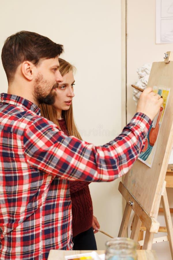 École d'art images stock