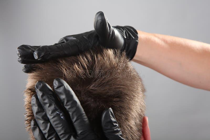 École d'art de coiffeur images stock