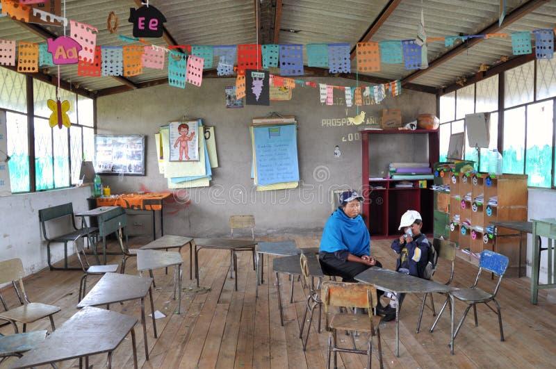 École d'Ecuadorian photos stock