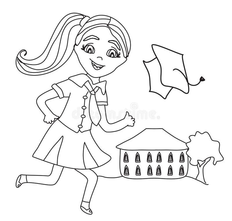 École de baie de baie illustration de vecteur