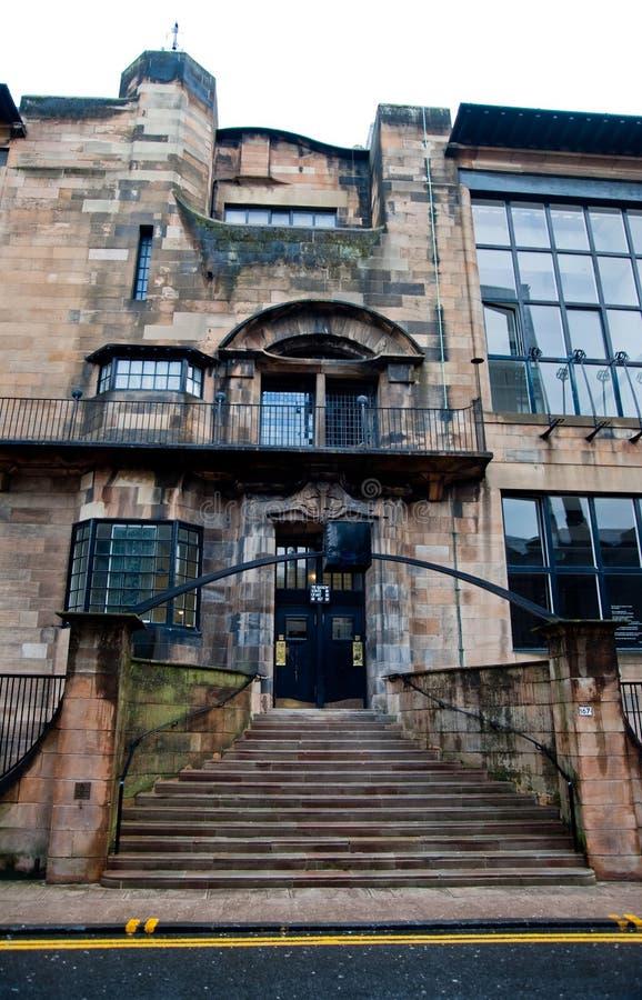 École de Glasgow d'art photos stock