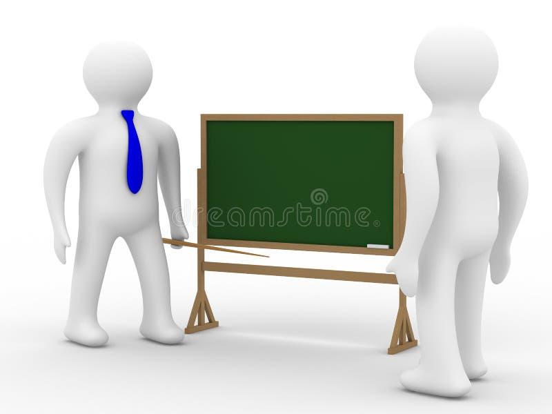 Download école de leçon de classe illustration stock. Illustration du craie - 8657008