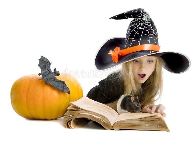 École de petites sorcières photos stock