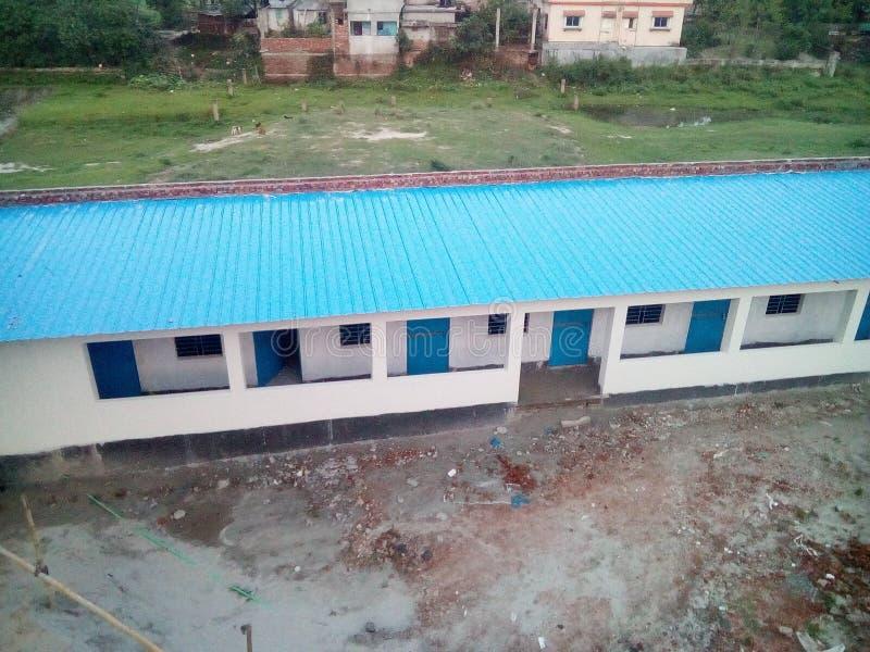 École de village images libres de droits