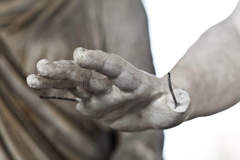 École des sculpteurs, restauration des sculptures, dépôt de réparation d'atelier image stock