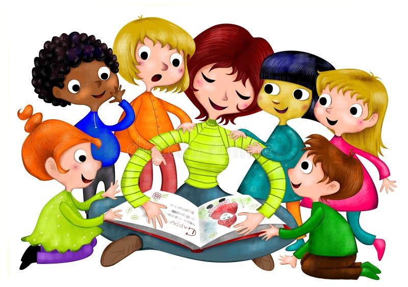École maternelle illustration stock