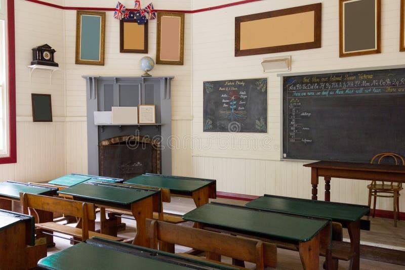 École pionnière, Australie image libre de droits