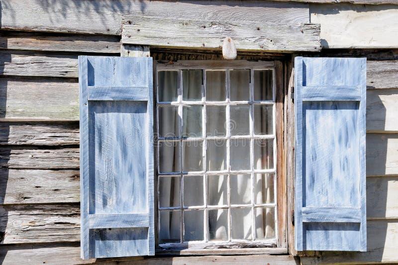 École très vieille St Augustine FL de fenêtre images libres de droits